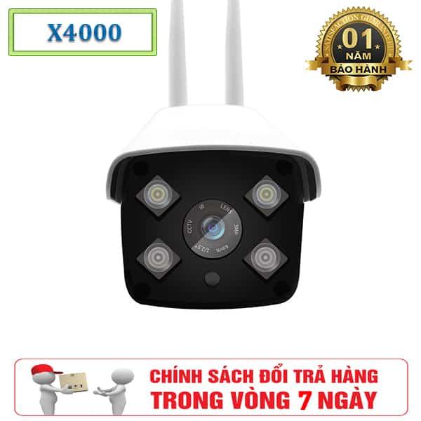Camera Ngoài Trời Care Cam X4000 - Camera Giám Sát Hỗ Trợ Hồng Ngoại 2