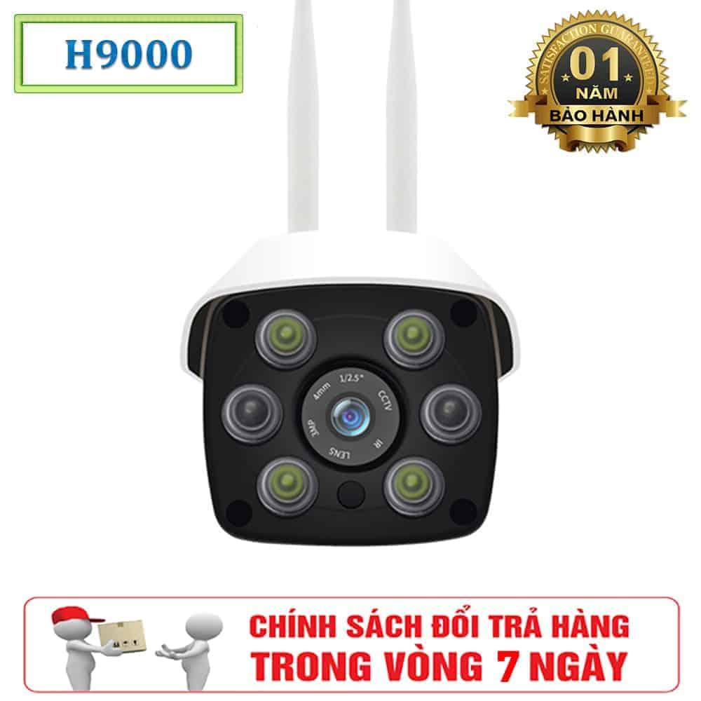 Camera Giám Sát Ngoài Trời HapSee H9000 - Camera 2 Râu