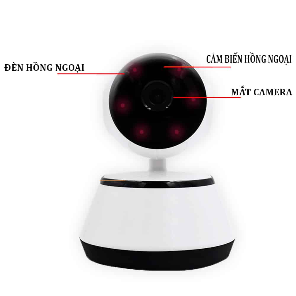 Camera Giám Sát V380 - Hỗ Trợ Hồng Ngoại 3