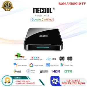 Thiết kế Android TV Box Mecool KM3 Pro