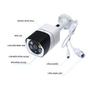 Camera Giám Sát Ngoài Trời Yoosee Z6 – Độ Phân Giải HD720P, 1.0Mpx 2