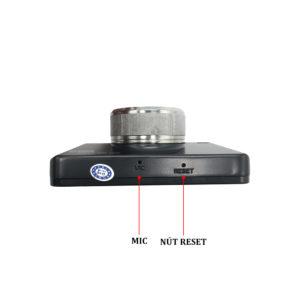 Micro nằm trực tiếp trên thân camera