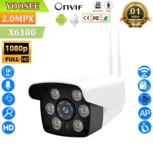 Camera Giám Sát Ngoài Trời Yoosee X6100 - Full HD1080P, 2.0Mpx 3