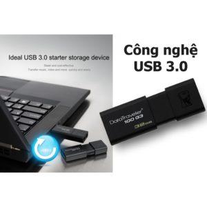 USB Kingston DataTraveler 100 G3 – 16GB – USB 3.0 2