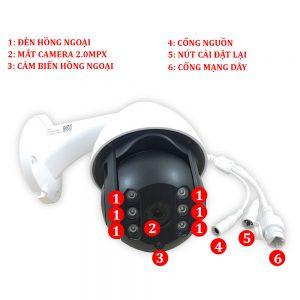 camera giám sát ngoài trời, smart new
