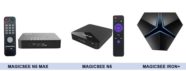 Một số sản phẩm trong chương trình khuyến mại của Magicsee