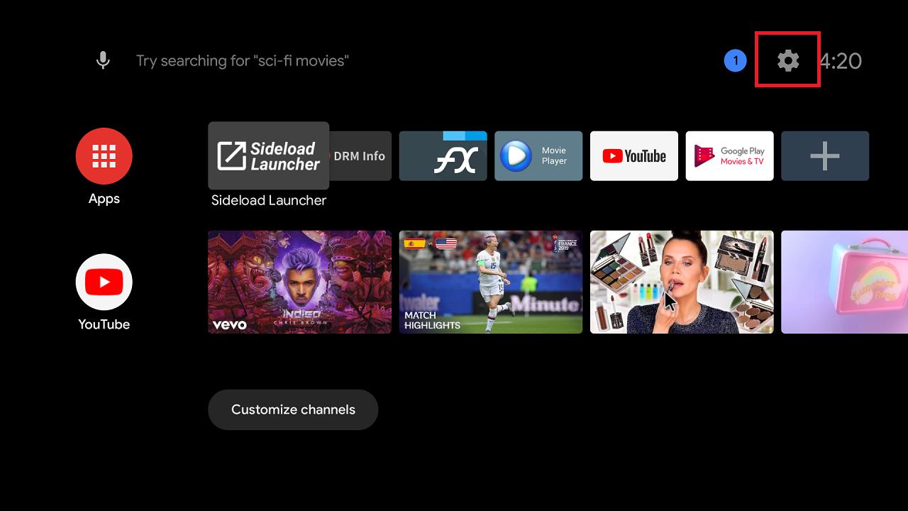 hướng dẫn cài đặt android tv box chạy hệ điều hành android 8.0
