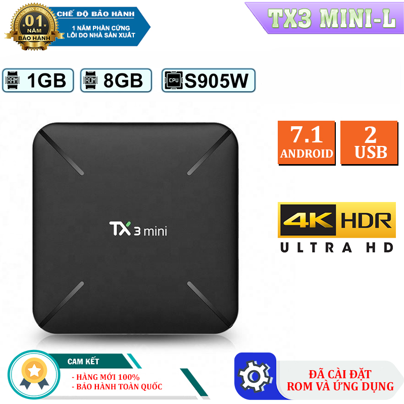 android tv box, smart new vn