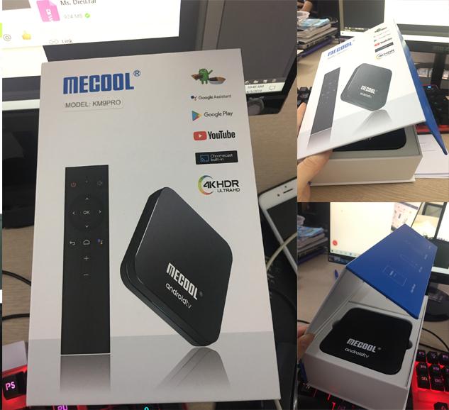Android tv box km9 pro, smart bew