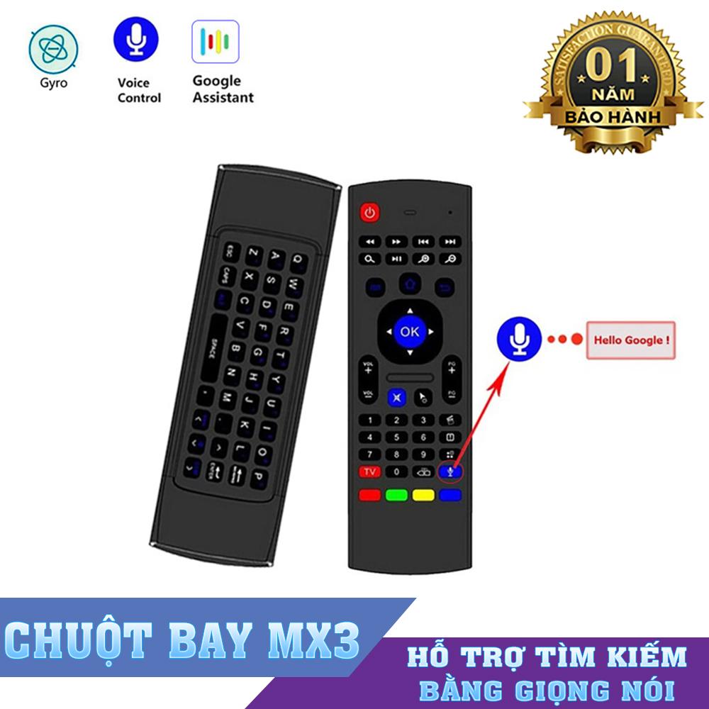 Chuột bay MX3 Pro - Tìm kiếm giọng nói