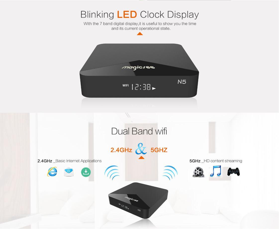Kết nối Wifi Dual band 2.4G và 5G