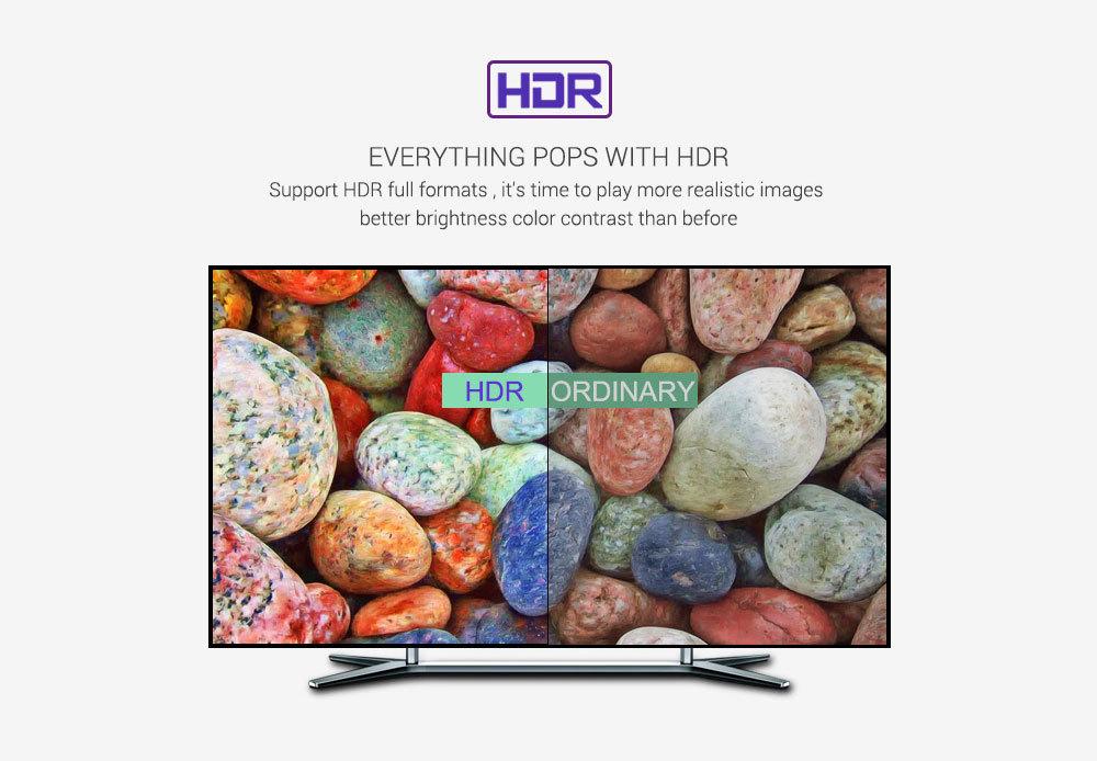 Chất lượng hình ảnh HDR sắc nét và chân thật