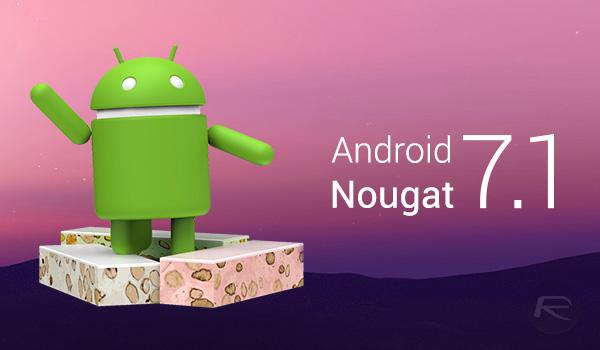 Trang bị hệ điều hành Android 7.1