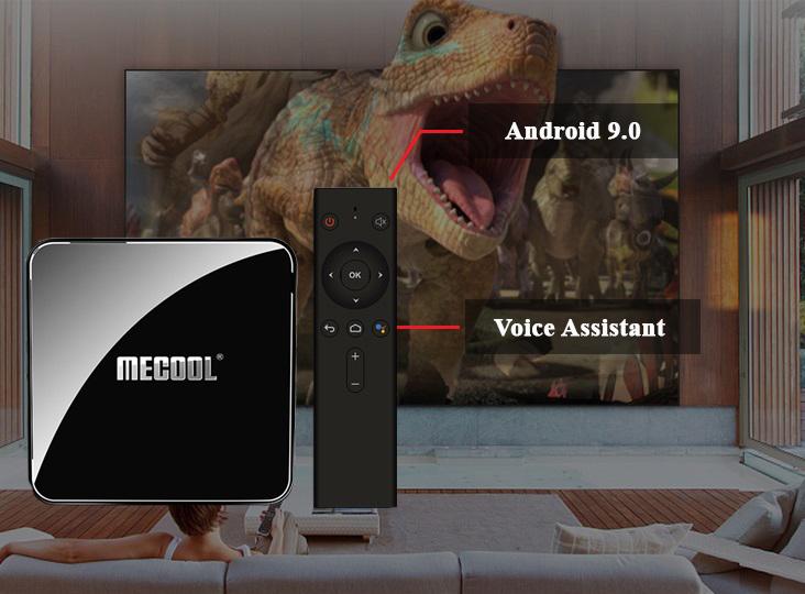 Android Tivi Box Mecool KM3 - hệ điều hành Android 9.0