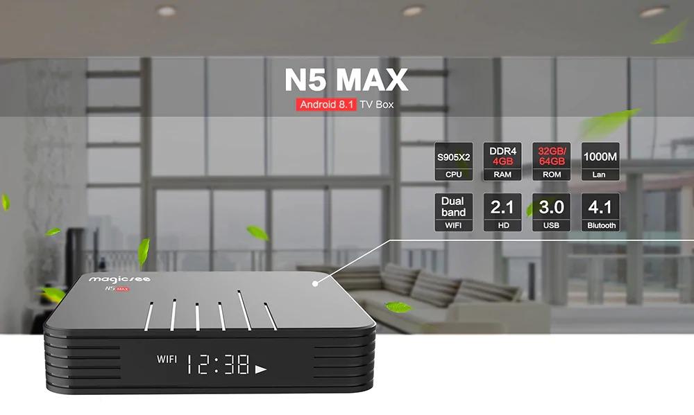 Android tivi box Magicsee n5 max