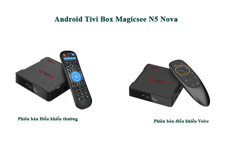 Android tivi box magicsee n5 nova, smart new