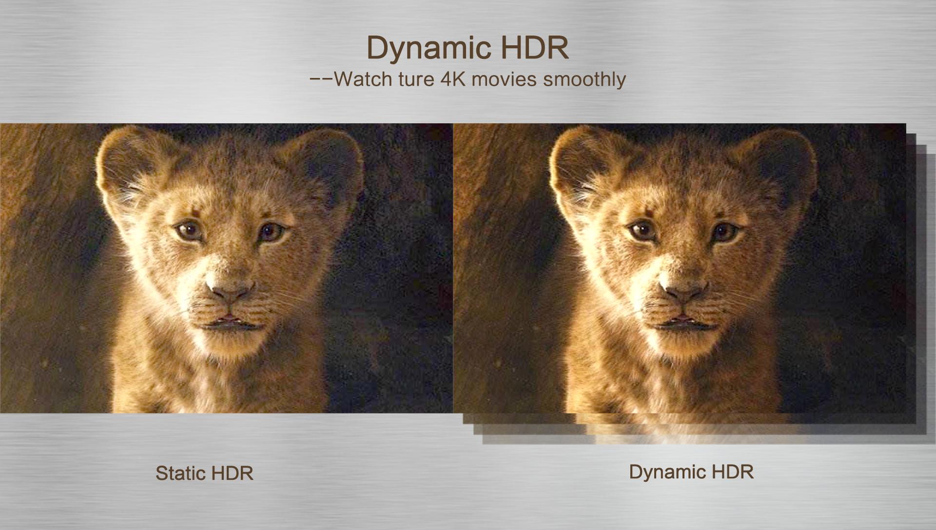 Tính năng HDR trên Magicsee N5 nova