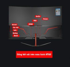 Màn hình máy tính 32 inch chuyên game Freesync ATAS Q318 PLUS 3