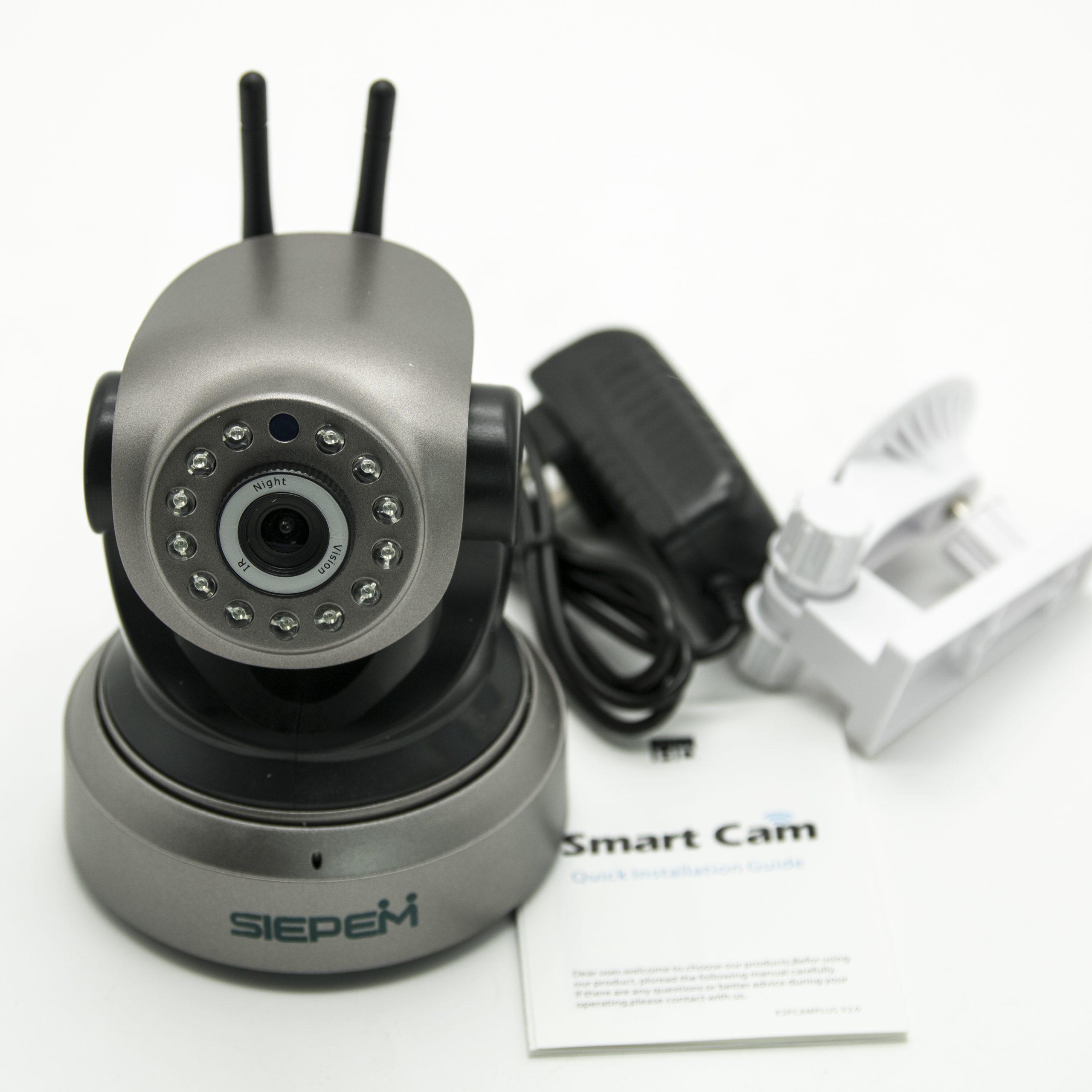 Đánh giá chi tiết Camera IP WIFI Siepem