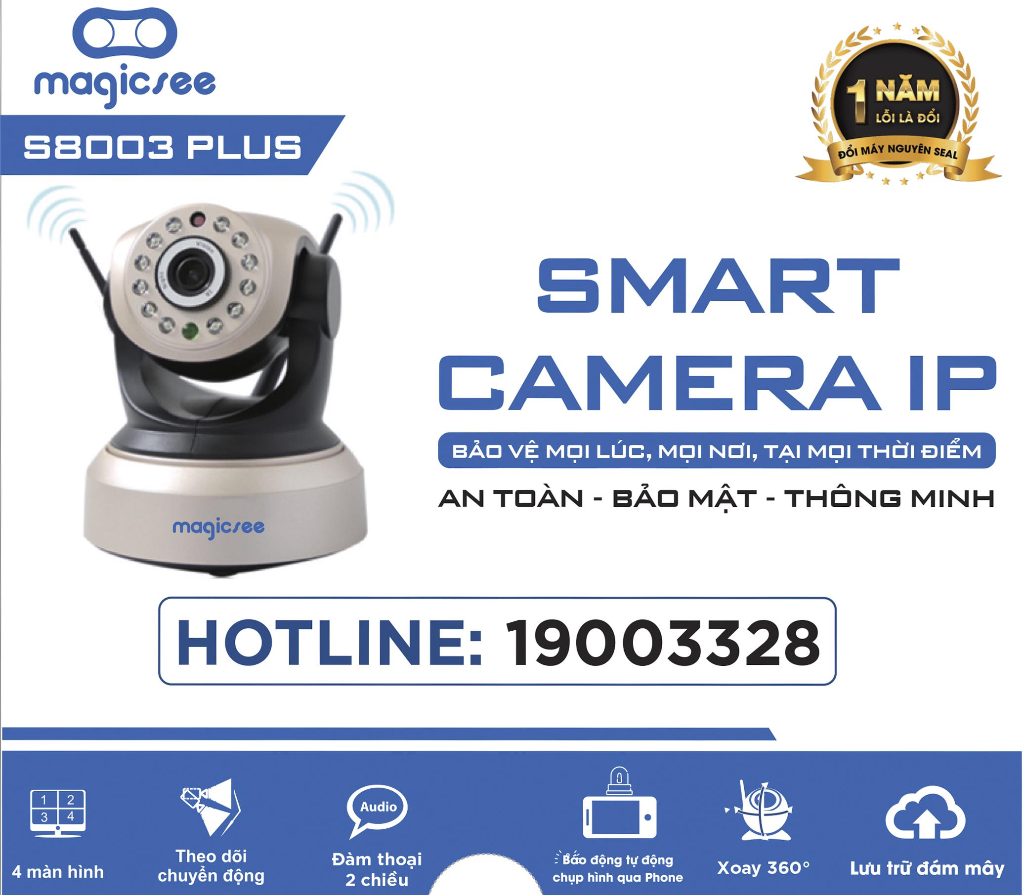 camera giám sát magicsee S8003 plus